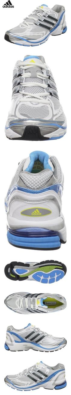 half off 5bda7 9c79f  39.99 - adidas Women s Supernova Sequence 3 Running Shoe,Running  White Black Blue Metallic Fresh Splash,6 M US
