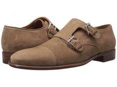 Bruno Magli Wesley Suede (Tan) Men's Shoes