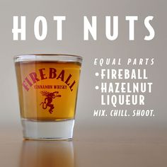 Drink Recipes | Fireball Cinamon Whisky