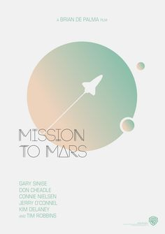 poster design software Mission to Mars - Movie Poster Mission to Mars - Movie Poster on Behance Web Design, Layout Design, Graphic Design Posters, Typography Design, Book Cover Design, Book Design, Poster Design Software, Plakat Design, Mission To Mars