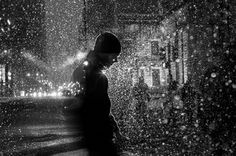 "Saatchi Online Artist Satoki Nagata; Photography, ""Michigan Avenue, Chicago 2013"""