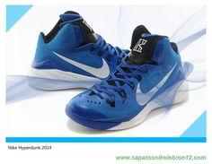 sale retailer 42f62 81d02 tenis barato de marca Meia-noite marinha azul foto Branco 653484-403 Nike  Hyperdunk 2014 Masculino