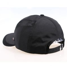 Men Hat Breathable Polyester Acrylic Outdoor Sports Golf Mesh Baseball Cap at Banggood