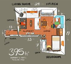 Small Studio Apartment Ideas | Apartment Therapy