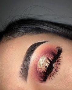 Eyeshadow Looks Idée Maquillage 2018 / 2019 : a Make-. - Eyeshadow Looks Idée Maquillage 2018 / 2019 : a Make-up-Idee - Makeup Eye Looks, Makeup For Brown Eyes, Skin Makeup, Eyeshadow Makeup, Beauty Makeup, Eyeliner, Eyeshadows, Eyebrows, Eyeshadow Ideas