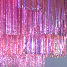 Pink glitter curtains motherfucking sparkle fringe ceiling pastels and aesthetic hot shower curtain s . Photo Wall Collage, Picture Wall, Kitsch, Break My Heart, Pink Walls, Everything Pink, Pink Aesthetic, My Favorite Color, Bunt