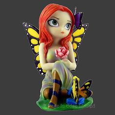 Large #daydreams & frog fantasy fairy #figurine by jasmine becket-griffith #(12cm,  View more on the LINK: 	http://www.zeppy.io/product/gb/2/181546181832/