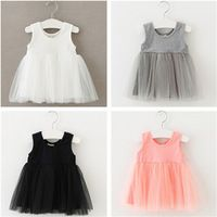 MAKA KIDS Baby Summer Baby Girls TUTU Dress Cotton Infant Party ...