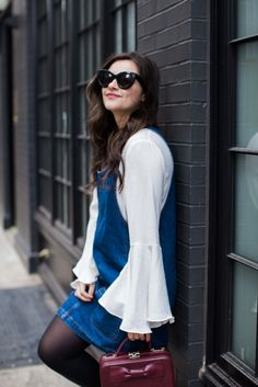 The Bell Sleeve Top   How I Re-wear My Favorite Pieces by fashion blogger Dana from Pink Champagne Problem