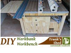 DIY Mobile Werkbank selber bauen / Mobile Workbench - YouTube