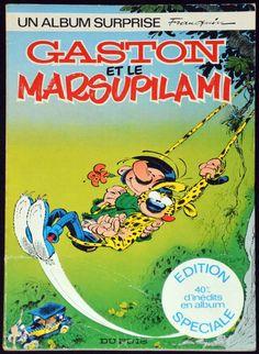 BD Gaston Lagaffe - Gaston et le Marsupilami - EO 1978