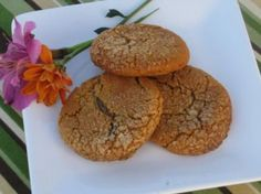 Sugar-Free Spice Cookies--sub all the sugar for agave, not just what is listed. Also sub white flour for GF mix.
