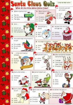 christmas picture quiz questions