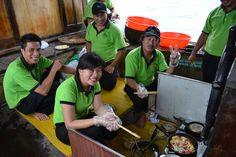 Behind the scenes. #VietnamSchoolTours #EcoTour #Hoian