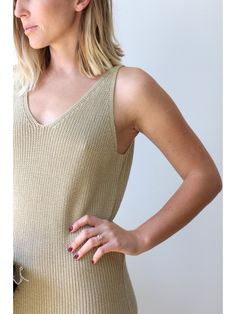 Vintage Minimal Knit Dress - New Arrivals | Dear Society