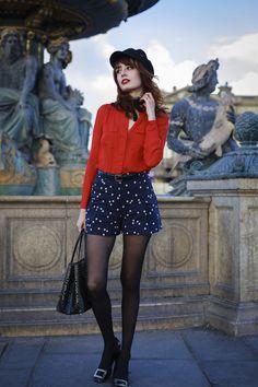 Bleu Blanc Rouge | Miss Pandora - Louise Ebel