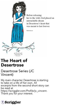 The Heart of Desertrose by Desertrose Series (JC Vincent) https://scriggler.com/detailPost/story/40437