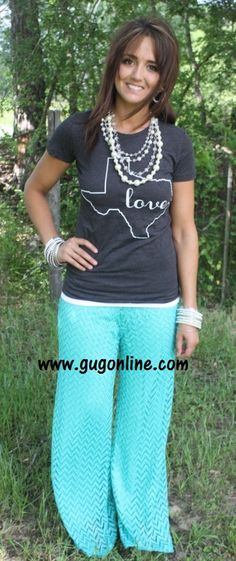 SALE Crossing The Line Chevron Lace Pants in Jade  FINAL www.gugonline.com $25.00