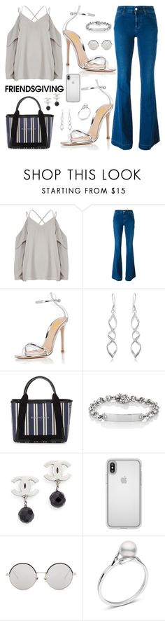 """Friendsgiving"" by fsjamazon ❤ liked on Polyvore featuring STELLA McCARTNEY, Balenciaga, Hoorsenbuhs, Speck and Linda Farrow"