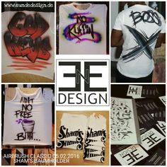 Customized Airbrush T-shirts by E&E DESIGN GbR, 54292 Trier www.eundedesign.com www.facebook.com/eundedesign www.instagram.com/eundedesign