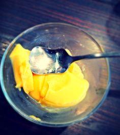 Japanese Curry house famous Mango Pudding