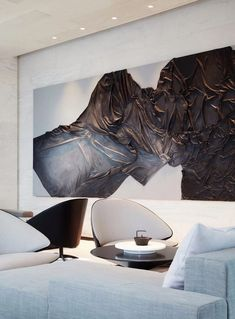 IDEAS & INSPIRATIONS Looking to enhance your home or simply create an oasis for your space? My client centered approach can do this for you! Wall Sculptures, Sculpture Art, Artwork Lighting, Deco Paint, Interior Architecture, Interior Design, Luxury Living, Oeuvre D'art, Installation Art
