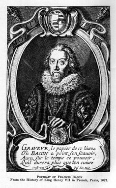 Portrait of Francis Bacon owned by King Henry of France