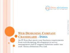 Web design company Chandigarh offers responsive, eCommerce, eye-catching and SEO friendly website designs on affordable prices only