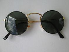 GAFAS DE SOL Estilo John Lennon  Hippie Goa 9c 70s Retro Vintage 60s 70 Redondes