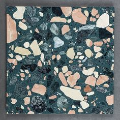Buy Sea Coral terrazzo resin tiles online - Visit our online store! Showroom in - Samples available! Wall Texture Patterns, Textures Patterns, Home Design, Wall Design, Tiles London, Cottage Style Bathrooms, Terrazzo Flooring, Tiles Online, Wall Cladding