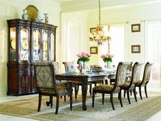 Hooker Furniture has been an industry leader for quality bedroom sets, dining room sets, living room furnishings, and home office furniture for over 90 years. Dining Room Colors, Dining Room Sets, Dining Room Design, Rectangle Dining Table, Dining Table Legs, Dining Room Furniture, Hooker Furniture, Bar Furniture, Online Furniture