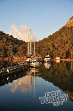 Sailing Around Gocek