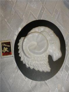 äldre EGO keramik stjärntecken Väduren,20x16,5 cm, fint skick Plates, Tableware, Licence Plates, Dishes, Dinnerware, Plate, Dish