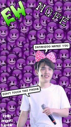 exo, kpop, k-pop, k pop, #exo #lockscreen  exo d.o. wallpaper, exo edit
