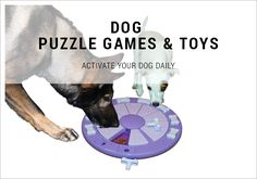 DOG PUZZLE GAMES & TOYS