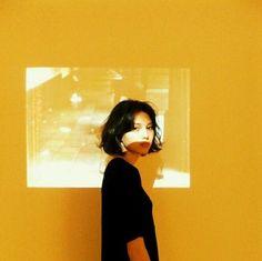 yellow, aesthetic, and art image: