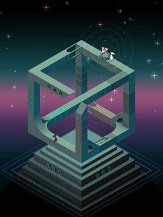 Monument Valley 2 is an illusory adventure of impossible architecture and forgiveness by ustwo games Game Concept, Concept Art, Monument Valley Game, Construction Games, Isometric Art, Book Projects, Graphic Design Illustration, Creative Illustration, Optical Illusions