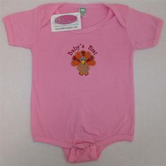 Baby's First Thanksgiving Day Turkey 24-Month by RK's Embroidery Boutique!