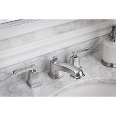 Moen T6420BN Eva Two Handle Widespread Bathroom Faucet | Select | Pinterest  | Faucet, Bath And Master Bathrooms