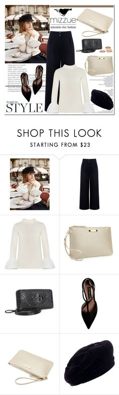 """""""Straight into style/ Mizzue Accessories"""" by helenevlacho ❤ liked on Polyvore featuring Être Cécile, Steve Madden, Yves Saint Laurent, women's clothing, women, female, woman, misses, juniors and mizzue"""
