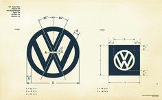 VW logo dimensions