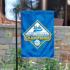 UCLA NCAA Baseball Champs Garden Flag