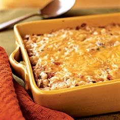 Though filling enough as a main dish, you can also serve smaller portions of this creamy, cheesy casserole as a tasty side to scrambled...