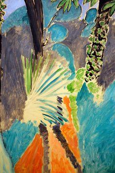 Henri Matisse - Palm Leaf, Tangier at National Art Gallery Washington DC