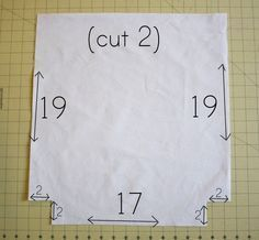 DIY tote bag (shows how to make the pattern and straps better than some of the other tutorials I've seen)