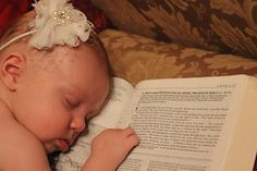 Baptism photo, open Bible to child's verse