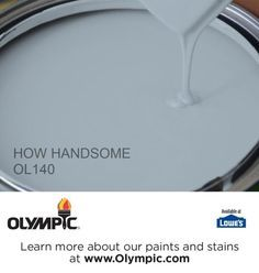 HOW HANDSOME OL140 is a part of the blues collection by Olympic® Paint.