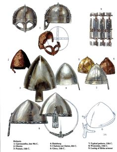Anglo-Saxon, Norse helms