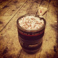 camera lens mug..