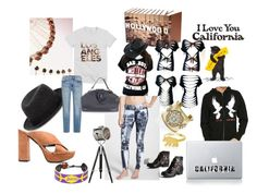 """""""Feeling California"""" by pampire ❤ liked on Polyvore featuring Neil Barrett, George & Laurel, Hot Chillys, Contempo Lights, Genetic Denim, Elyse Walker Los Angeles and GameWear"""